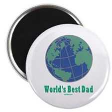 World's Best Dad Magnet