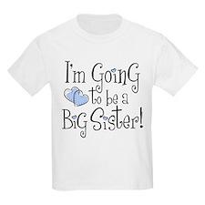 Heart New Big Sister T-Shirt