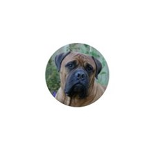 Thoughtful Bull Mastiff Mini Button (100 pack)
