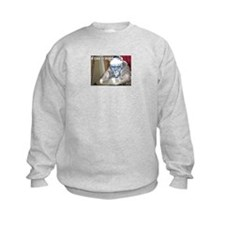 Cute Hockey cat Sweatshirt