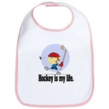 Hockey is my Life Bib