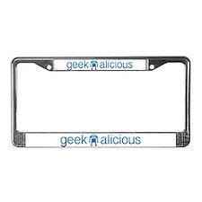 geekalicious License Plate Frame