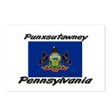 Punxsutawney Pennsylvania Postcards (Package of 8)