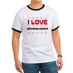 I LOVE ORCHIDOLOGISTS Ringer T