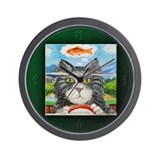 The Koi Look Wall Clock