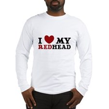 3-REDheadlove4-24 Long Sleeve T-Shirt