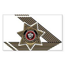 Sheriff San Bernardino Rectangle Decal