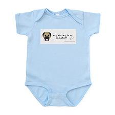 mastiff gifts Infant Bodysuit