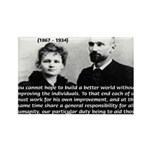 Humanity Marie Curie Rectangle Magnet