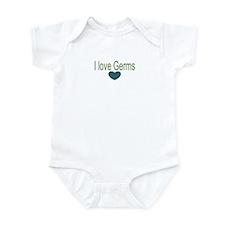 I love Germs Infant Bodysuit