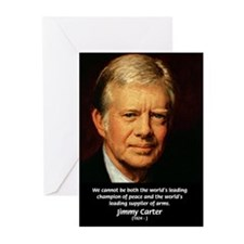 War and Peace: Jimmy Carter Greeting Cards (Packag