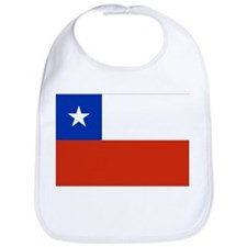 Chile Flag Bib