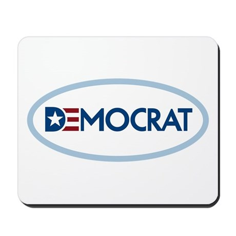 Democrat Mousepad