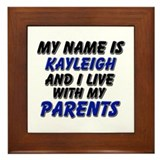 my name is kayleigh and I live with my parents Fra