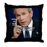 Terrorism George W. Bush Throw Pillow
