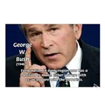 Terrorism George W. Bush Postcards (Package of 8)
