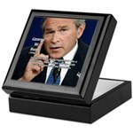 Terrorism George W. Bush Keepsake Box