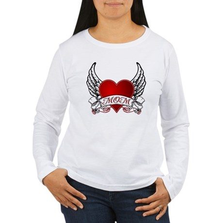 Mom Tattoo Women's Long Sleeve T-Shirt