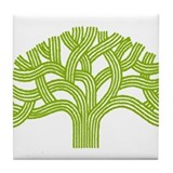 Oakland Lime Tree Tile Coaster