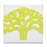 Oakland Meyer Lemon Tree Tile Coaster