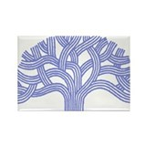 Oakland Ceanothus Tree Rectangle Magnet (10 pack)