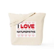 I LOVE NATUROPATHS Tote Bag