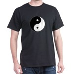 Yin Yang Black T-Shirt