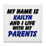 my name is kailyn and I live with my parents Tile
