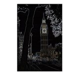 Big Ben Glows Postcards (Package of 8)