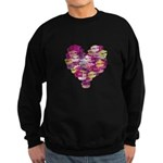 Heart of Kisses Sweatshirt (dark)