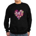 Heart of Kisses Sweatshirt (dark)