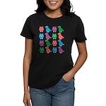 Birds and Owls Women's Dark T-Shirt
