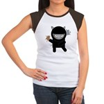 Ninja Kitty Women's Cap Sleeve T-Shirt
