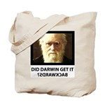 ID Darwin Backwards Tote Bag