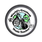 Music Teacher Wall Clock
