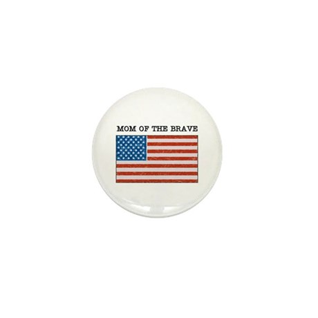 """Military Mom"" Mini Button"