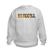 Bluegill Fishing Kids Sweatshirt