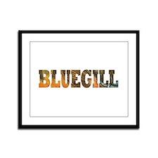 Bluegill Fishing Framed Panel Print