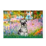Garden / Miniature Schnauzer Postcards (Package of