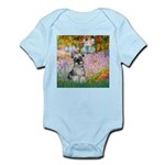Garden / Miniature Schnauzer Infant Bodysuit