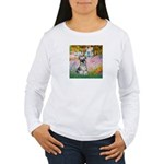 Garden / Miniature Schnauzer Women's Long Sleeve T