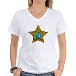 Citrus County Sheriff Women's V-Neck T-Shirt