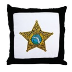 Citrus County Sheriff Throw Pillow