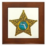 Citrus County Sheriff Framed Tile
