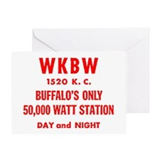 WKBW 1520 Greeting Card