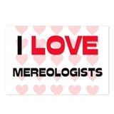 I LOVE MEREOLOGISTS Postcards (Package of 8)