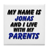 my name is jonas and I live with my parents Tile C