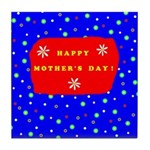 Mother's Day Ceramic Tile Coaster/Trivet