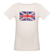 British Flag Distressed Tee