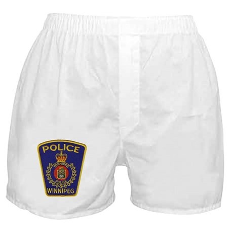 Winnipeg Police Boxer Shorts